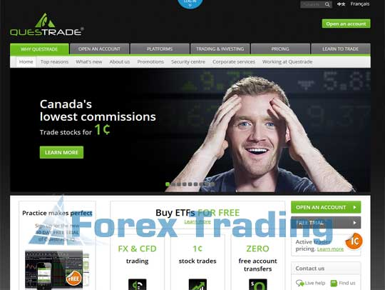 Top forex brokers canada