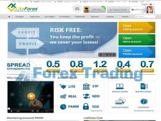 Liteforex Is One Of The Forex Brokers