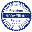 500Affilates Partner Stamp