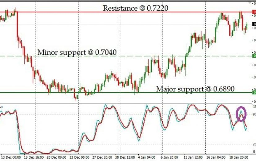 NZD/USD Pair: January 23rd 2017